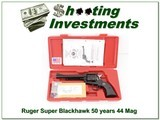Ruger Blackhawk 6.5 in 50 Years 44 Mag NIC