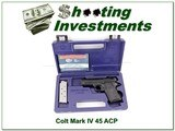 Colt Mark IV 80 Officers Lightweight 45 ACP