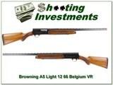 Browning A5 Light 12 66 Belgium VR near new!