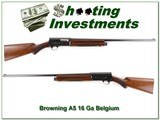 Browning A5 57 16 Gauge mint collector!
