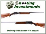 Browning A5 Sweet Sixteen VERY early 1939 Belgium