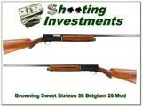 Browning A5 Sweet Sixteen 58 Belgium