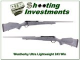 Weatherby Mark V Ultra-light 243 Win - 1 of 4