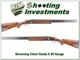 Browning Citori Grade 6 20 Gauge 28in Invector