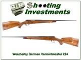 Weathebry Mark V Varmintmaster German 224 - 1 of 4