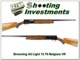 Browning A5 Light 12 70 Belgium VR Modified - 1 of 4