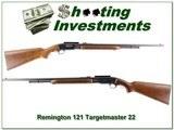 Remington 121 Targetmaster 22LR Pump