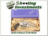 Smith & Wesson Model 32 top break 22LR Collector!