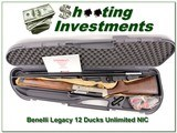 Benelli Legacy Ducks Unlimited 12 Ga NEW in case! - 1 of 4