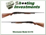 Winchester Model 42 made in 1957 28in 410 - 1 of 4