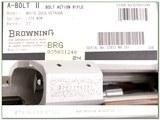 Browning A-bolt II White Gold Octagonal 270 WSM ANIB - 4 of 4