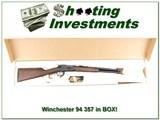 Winchester Model 94AE 357 Trapper ANIB! - 1 of 4