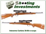 Interarms Mauser 30-06 Carbine with Redfield