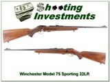 Winchester Model 75 Sporting 22LR Exc Cond! - 1 of 4