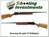 Browning A5 Light 12 70 Belgium collector!