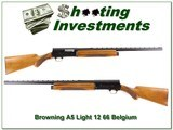 Browning A5 Light 12 66 Belgium Blond 26in VR