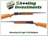 Browning A5 Light 12 64 Belgium 26in VR Mod