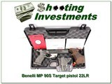 Benelli MP 90S World Cup Target Pistol 22LR new, unfired