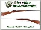 Vintage Winchester Model 41-410 41 Single shot