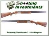 Browning Citori Grade 3 12 Magnum