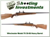 Winchester Model 70 Target 30-06 Heavy Barrel