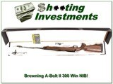 Browning A-bolt II 300 Win Mag 26in NIB!