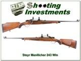 Steyr Mannlicher 243 Winchester very NICE!