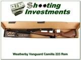 Weatherbny Vanguard Camilla no longer made 223 Rem