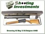 Browning A5 65 Belgium Magnum 12 ANIB!
