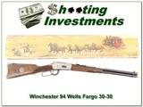 Winchester Model 94 Wells Fargo 30-30 XX Wood!