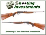 Browning 22 Auto First year Thumbwheel