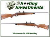 Winchester 70 Sporter 338 Win Magnum!