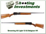 Browning A5 Light 12 63 Belgium Exc Cond
