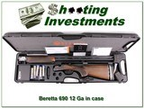 Beretta 690 12 Ga 32in Ajustable stock Exc in case!