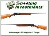 Browning A5 1960 Belgium 12 Gauge