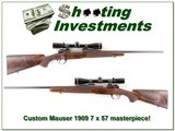 Custom Mauser 7x57 built by Joe Balickie in 1974