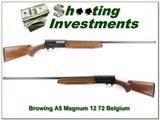 Browning A5 72 Belgium Magnum 12 Ga