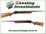 Browning 68 Belgium 20 Ga 26in IC VR!