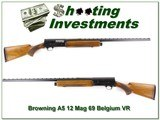 Browning A5 12 Mag 69 Belgium VR Honey Blond