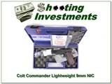 Colt Commander Lightweight 9mm NIC!