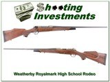 Weatherby Royalmark one of a kind NHSRA 300!