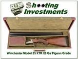 Winchester Model 23 XTR Pigeon Grade 20 Gauge in case