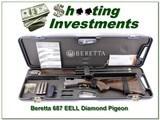 Beretta S 687 EELL Diamond Pigeon 12 Ga ANIC!