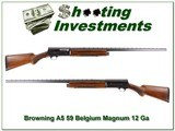 Browning A5 59 Belgium Magnum 12 32in VR