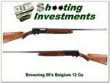Browning A5 1956 Belgium 12 Ga Collector!