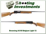 Browning A5 Light 12 69 Belgium Exc Cond!
