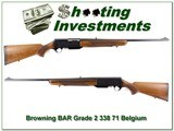 Browning BAR Grade II 338 71 Belgium Blond