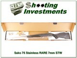 Sako 75 Stainless in RARE 7mm STW! - 1 of 4