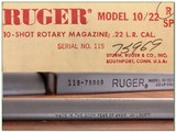 Ruger 10-22 10/22 1976 Liberty unfired MINT in box! - 4 of 4