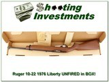 Ruger 10-22 10/22 1976 Liberty unfired MINT in box! - 1 of 4